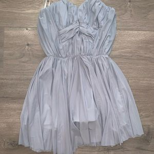 Grey ASOS dress